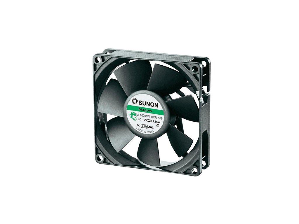 Ventilátor 12VDC 80x80x20mm ME80201V1