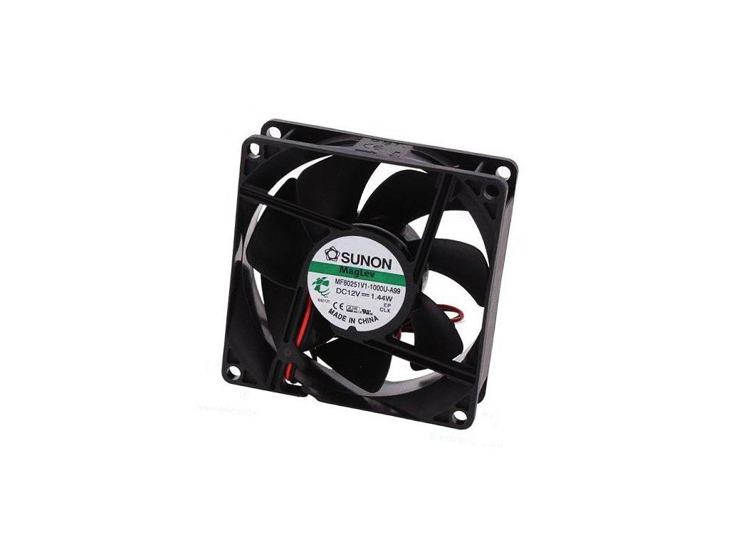 Ventilátor 12VDC 80x80x25mm MF80251V1