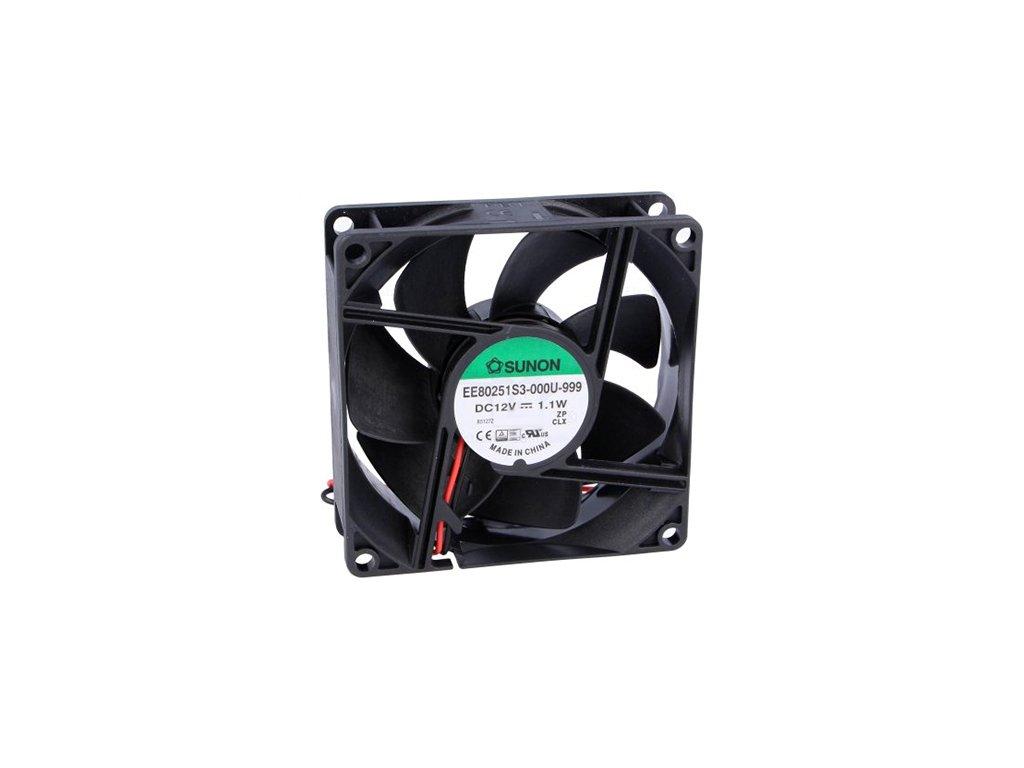 Ventilátor 12VDC 92x92x25mm EE92251B1