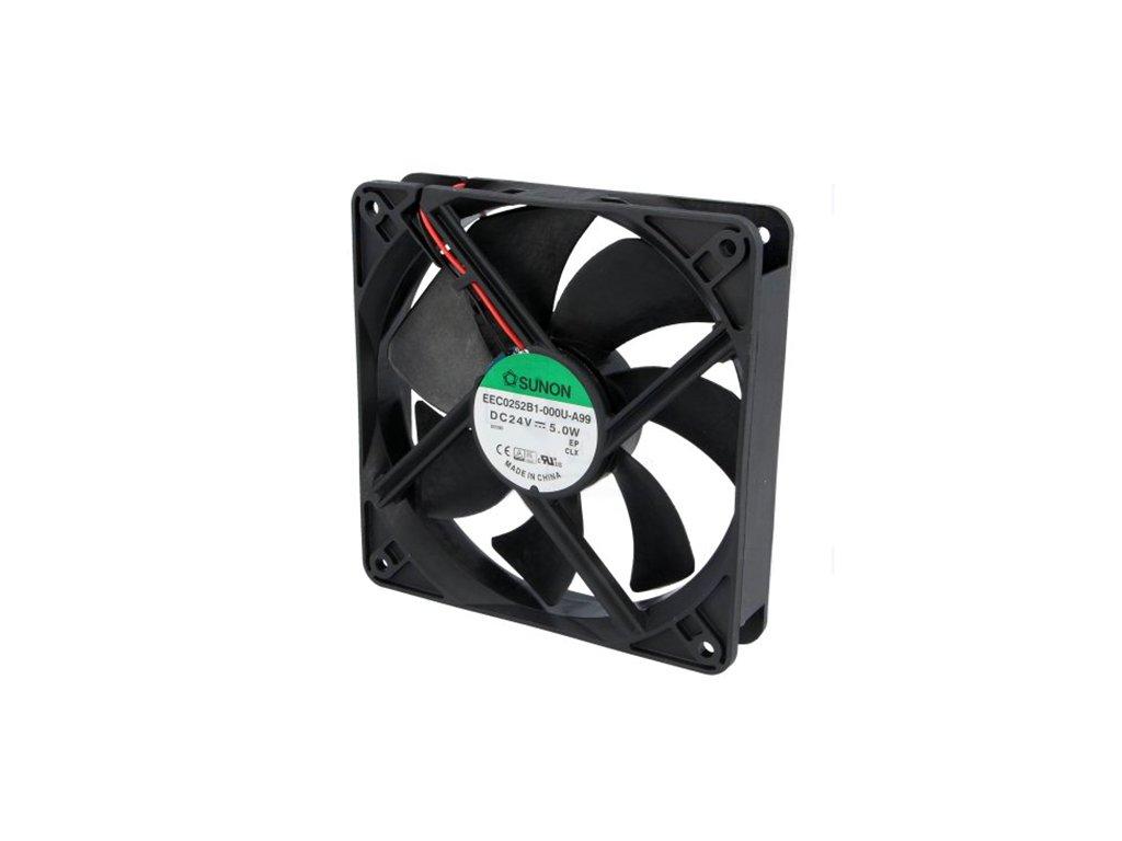 Ventilátor 24VDC 120x120x25mm EEC0252B1