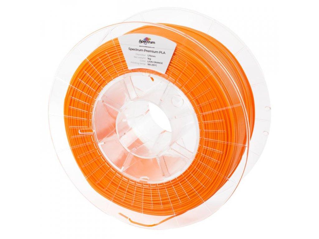 Filament PLA 1,75mm oranžová (Lion Orange) 1kg