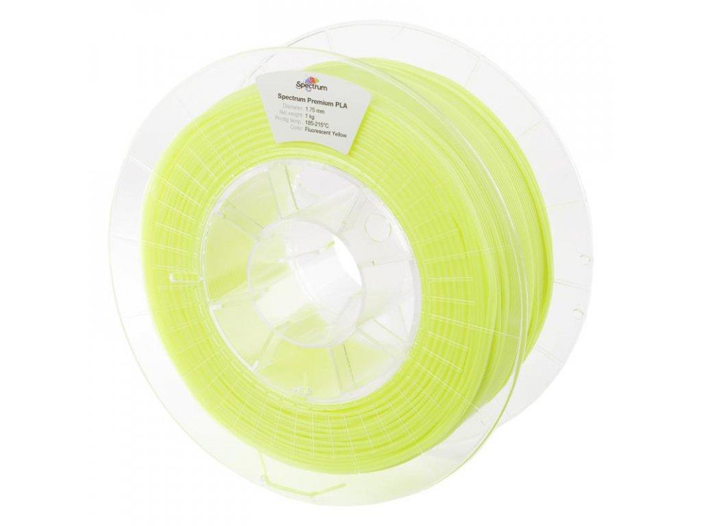 Filament PLA 1,75mm žlutá (Fluo Yellow) 1kg