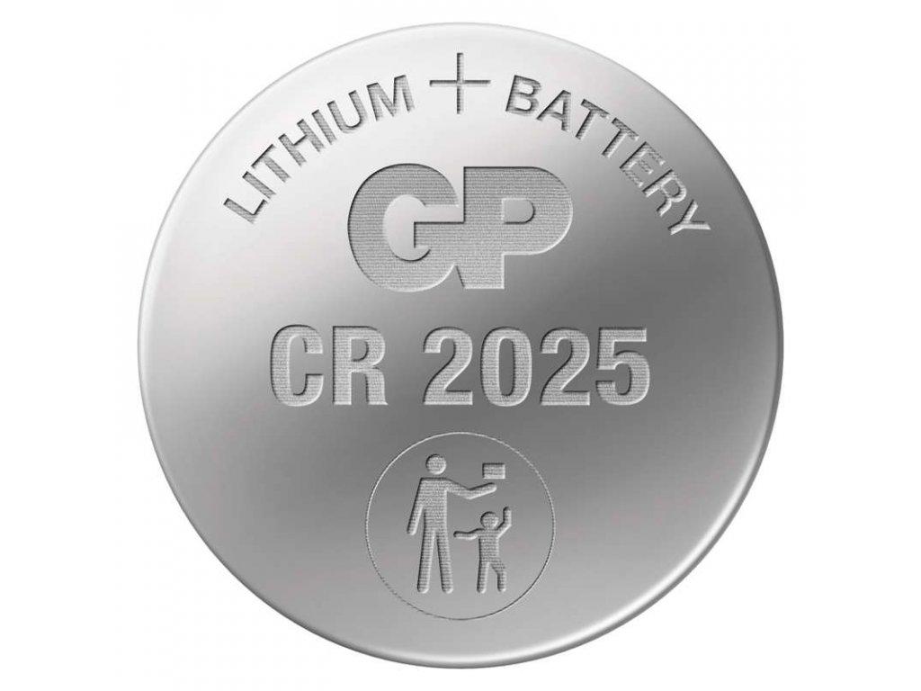 Baterie CR2025, blistr