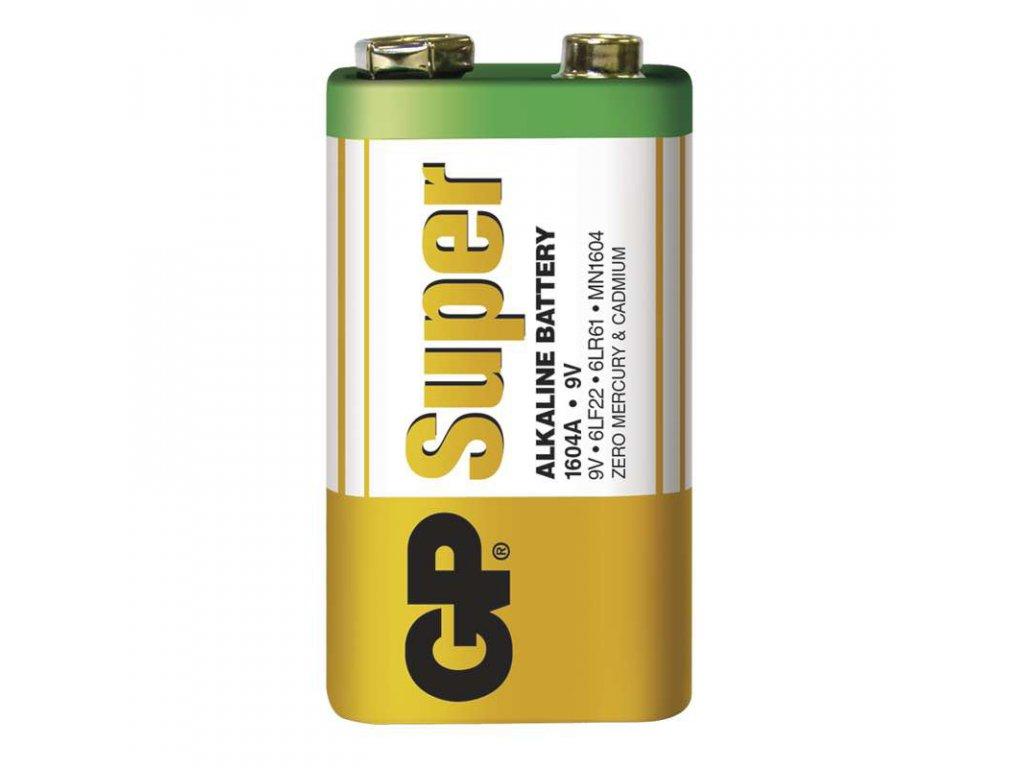 Baterie GP Super 6LP3146 (9V), fólie