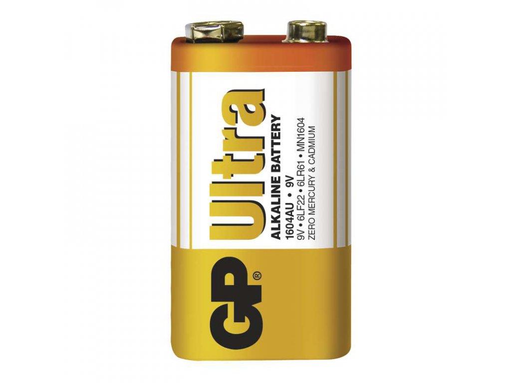 Baterie GP Ultra 6LF22 (9V), fólie