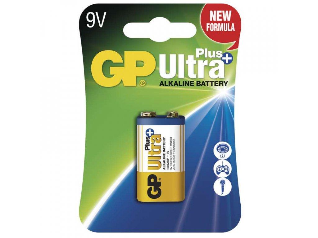 Baterie GP Ultra Plus 6LF22 (9V), fólie