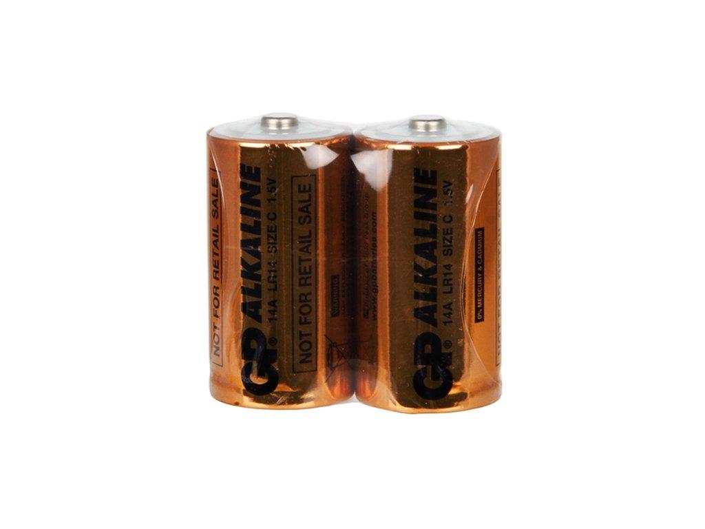 Baterie GP14A S2 (C), fólie (2ks)