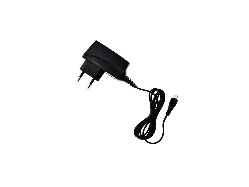 USB nabíjecí adaptér s microUSB 1000mA