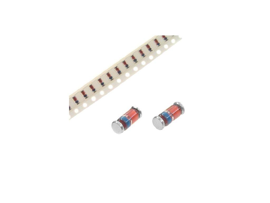 Dioda BZV55C5V1 zenerova 5,1V SMD