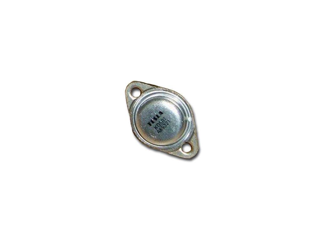 Tranzistor KD501 TO3