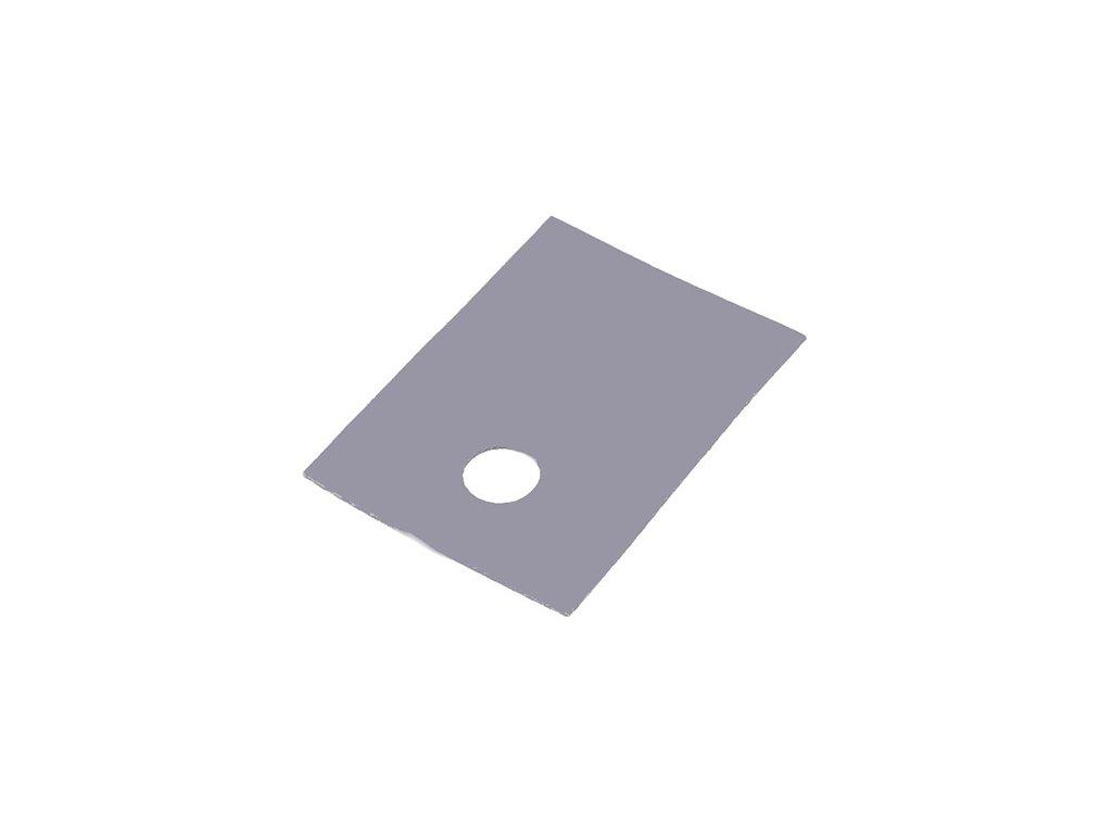 Silikonová podložka TO220
