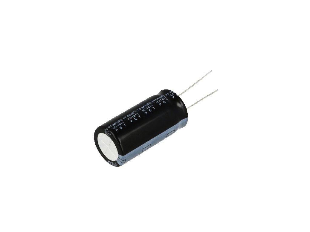 CE 1000uF 100V 105°C 18x35,5mm PF
