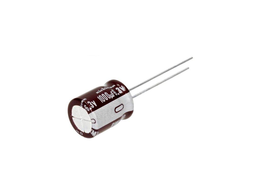 CE 1000uF 6,3V 105°C 10x12,5mm PW (Low ESR)