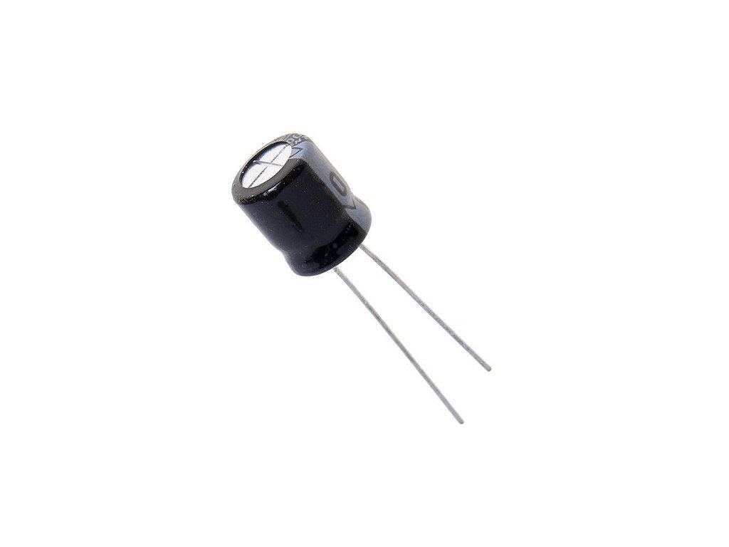 CE 100uF 50V 105°C 8x11,5mm PF