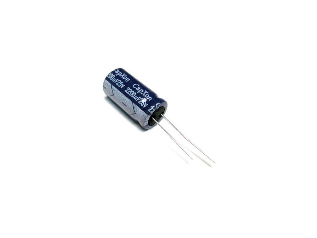 CE 100uF 50V 85°C 8x11,5mm