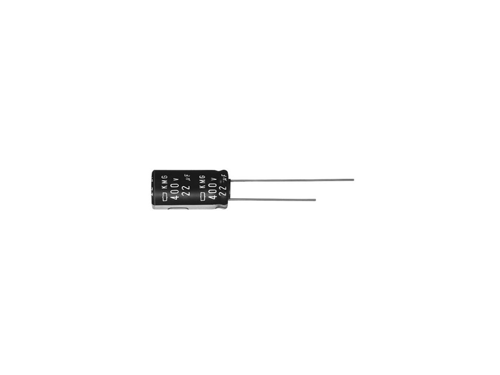 CE 10uF 400V 105°C 10x20mm KMG