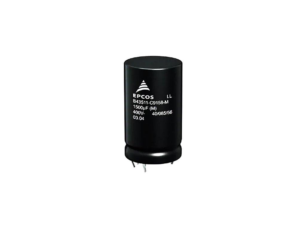 CE 1500uF 450V 85°C 40x102mm B43510 (snap-in)