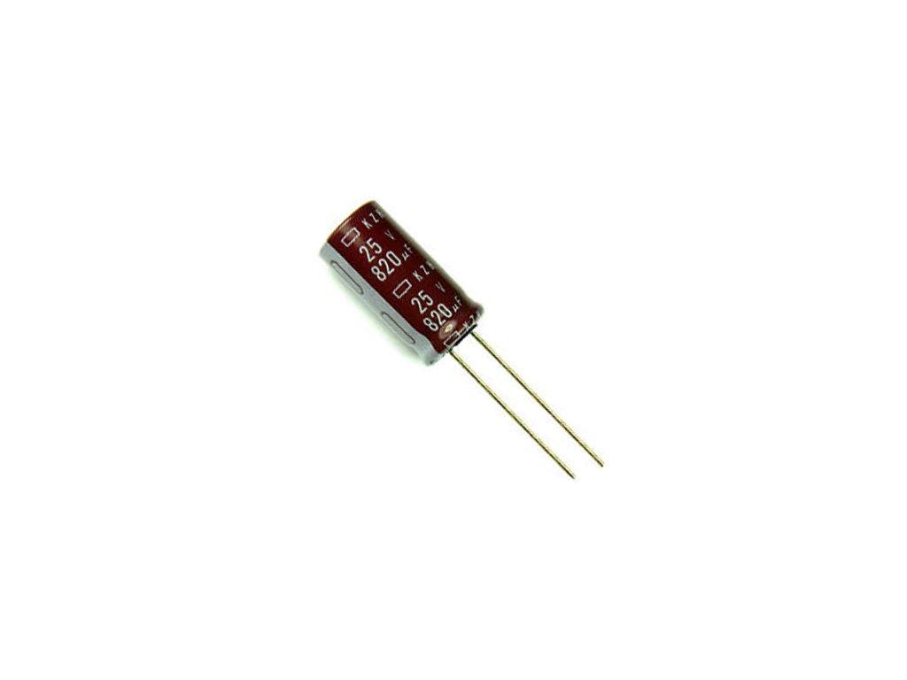 CE 2200uF 10V 105°C 10x25mm KZM (Low ESR)