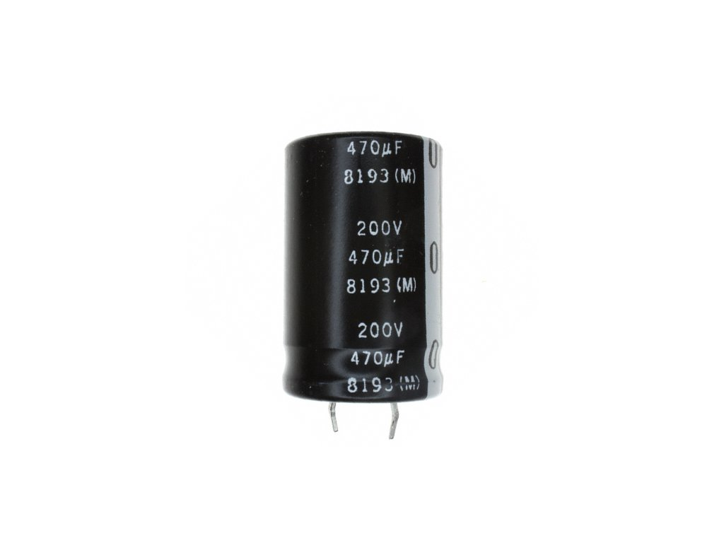 CE 2200uF 200V 85°C 30x50mm SMQ (snap-in)