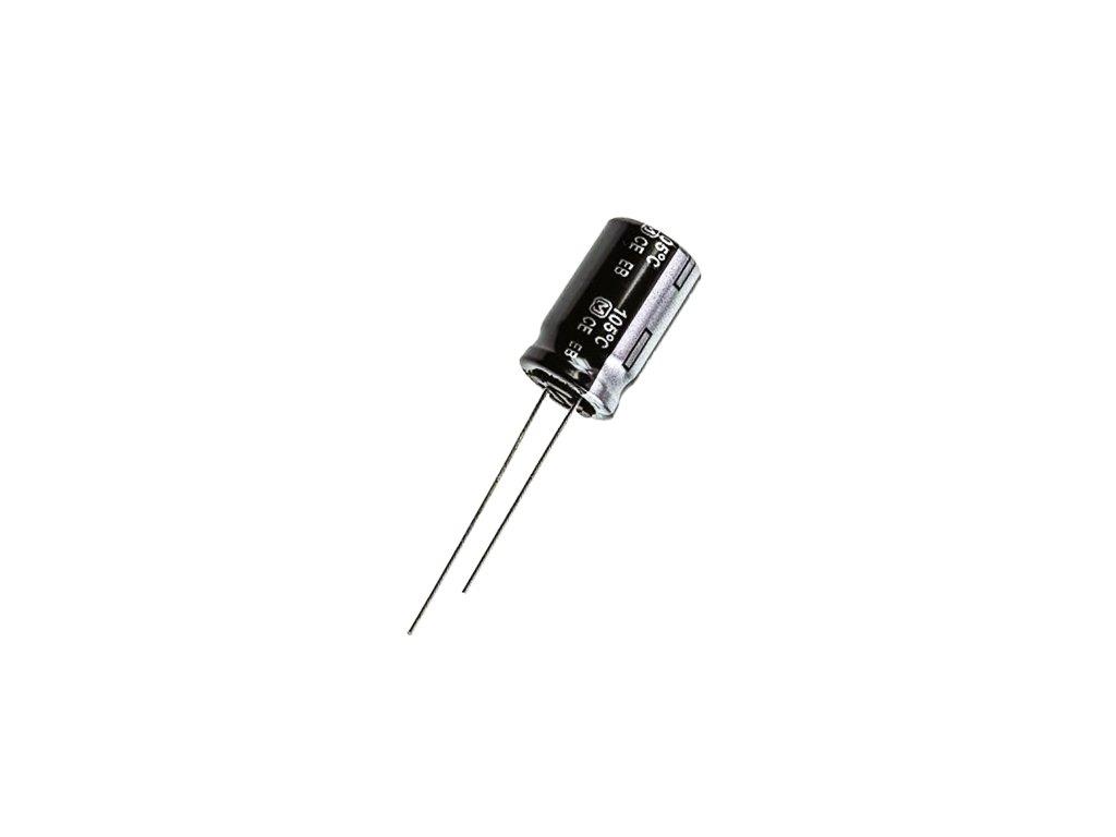 CE 220uF 160V 105°C 18x25mm EB