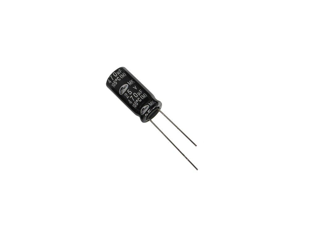 CE 220uF 50V 105°C 10x12,5mm RD