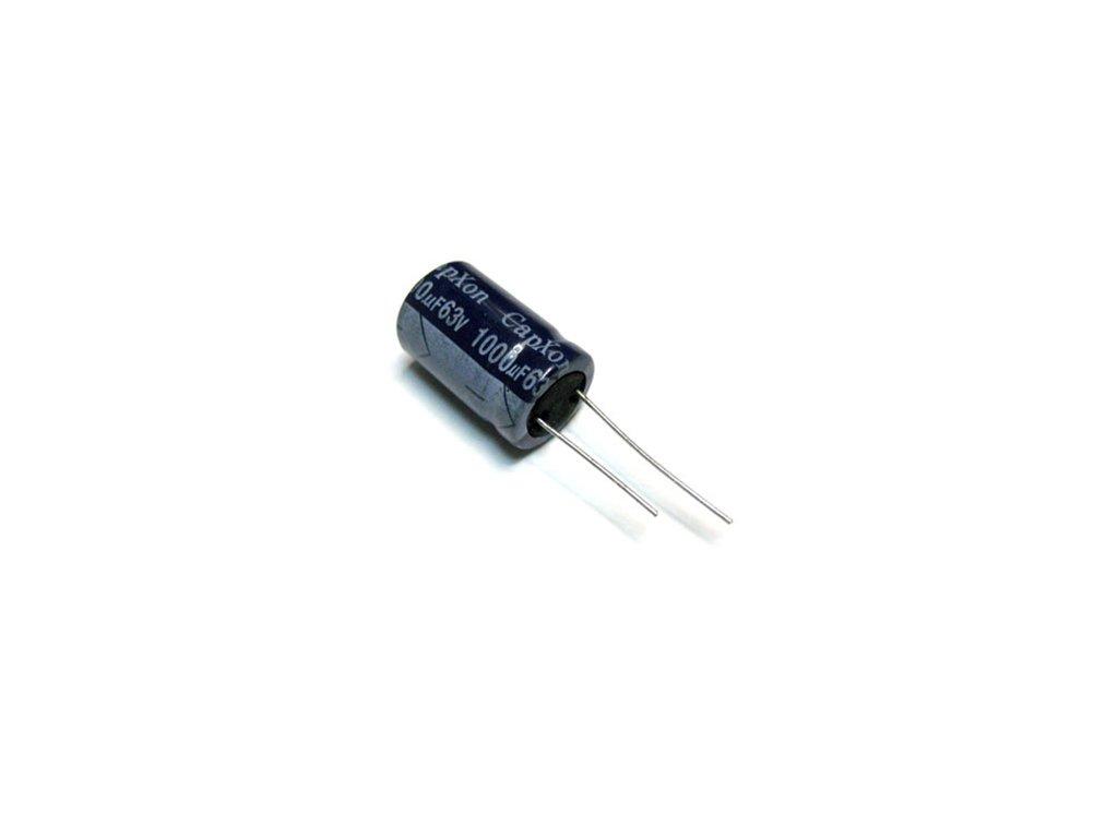CE 220uF 50V 85°C 10x11,5mm