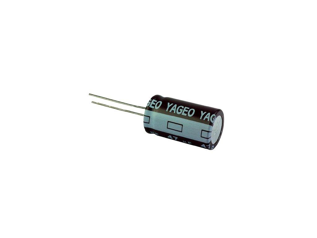 CE 220uF 63V 105°C 10x19,5mm SE