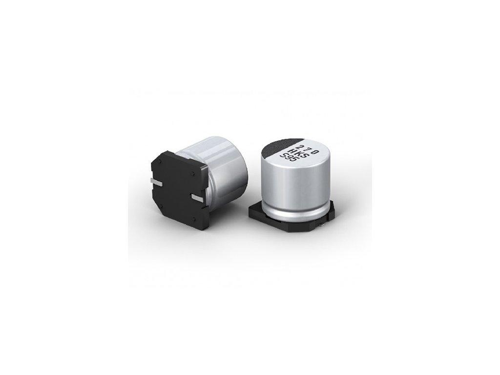 CE 330uF 16V 105°C SMD 10x12,7mm PCF (Low ESR)
