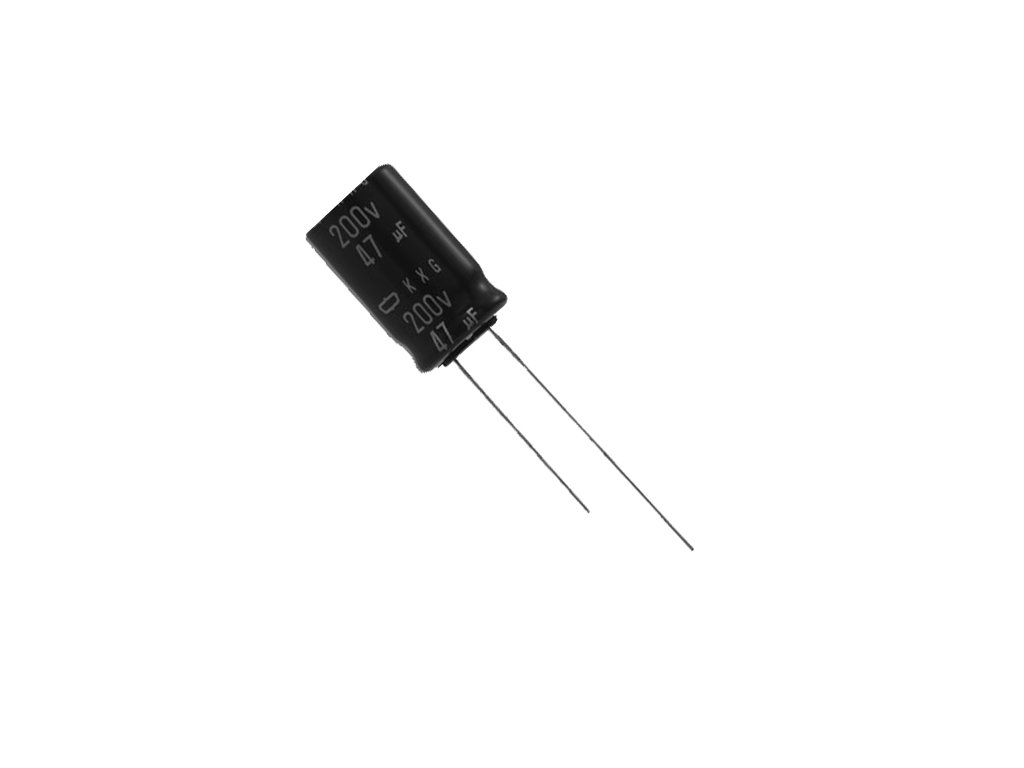 CE 47uF 25V 105°C 5x11,5mm LXZ (Low ESR)