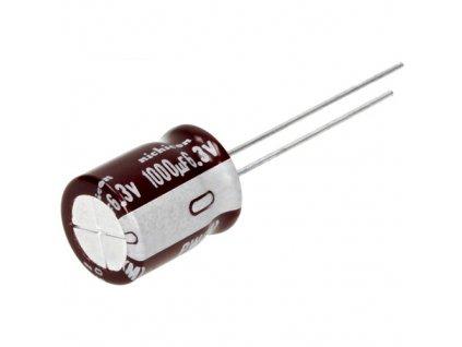 CE 820uF 25V 105°C 10x25mm PW (Low ESR)