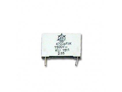 CPP 4,7nF 1500VDC KLI1511
