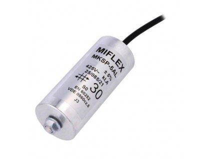 Kondenzátor rozběhový 10uF 425V MKSP-5AL