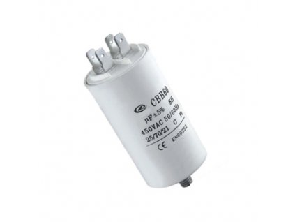Kondenzátor rozběhový 25uF 450V CBB60E