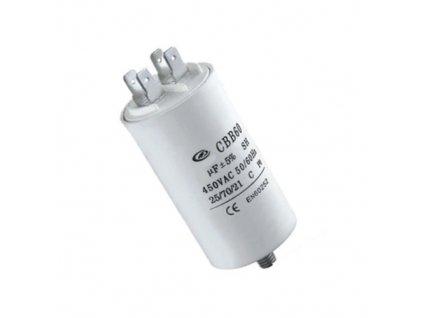 Kondenzátor rozběhový 8uF 450V CBB60E
