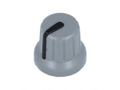 Knoflík GMN4 šedo-černý