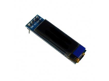 LCD 128x32 IIC I2C bílý 3,3-5V modul
