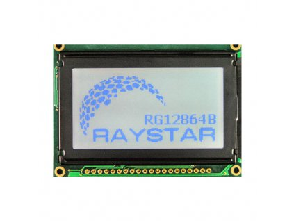 LCD RG12864B-BIW-V