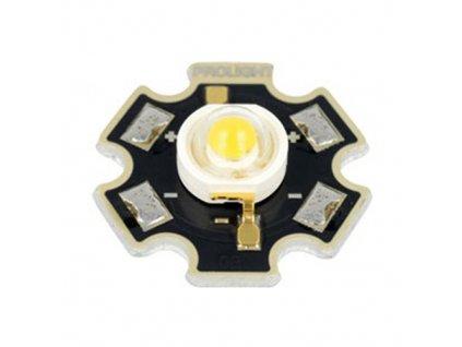LED výkonová PM2E 1W bílá studená