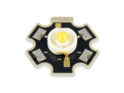 LED výkonová PM2E 1W bílá teplá