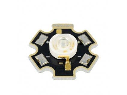 LED výkonová PM2J 3W ultrafialová