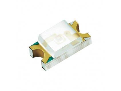 LED 1206 žlutá 70mcd 140°
