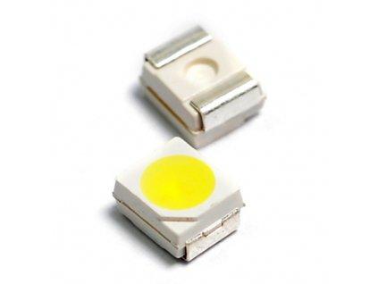 LED 3528 bílá teplá 3000mcd 120°