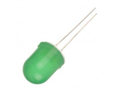 LED 10mm zelená L-813GD