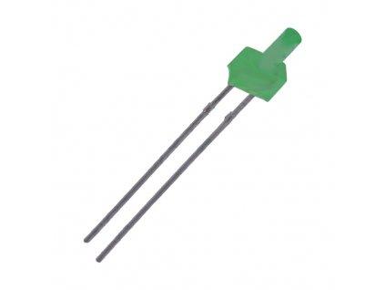 LED 2mm zelená LL-204PGD1F-G5-2B