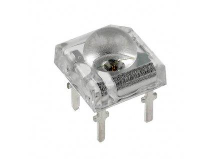 LED Super Flux žlutá 6000mcd 120°