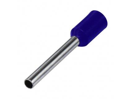 Dutinka izolovaná 0,25x8mm fialová