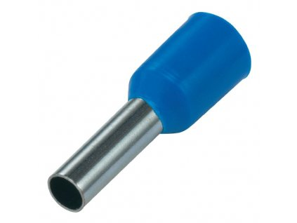 Dutinka izolovaná 2,5x8mm modrá