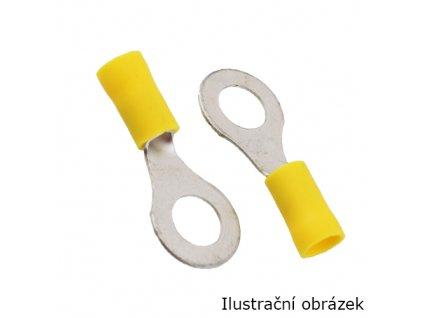 Očko M6 límec žlutý