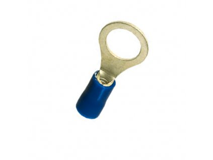 Očko M8 límec modrý