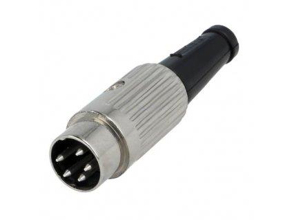 Konektor DIN 5pin 240° vidlice 610-0510
